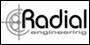 radial efekty git.,urzadzenia sceniczne,sterowniki,loopery,DIBox...